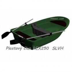 Plastový člun REX 250